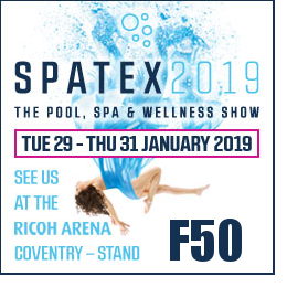 Spatex 2019 – The Pool, Spa & Wellness Show